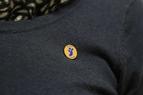 pins métal or/bleu alumni unistra
